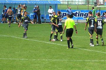 Bucurie la finalul meciului cu Steaua II