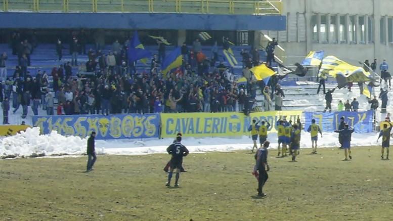 stadion Areni Cetatea galerie suporteri 2006