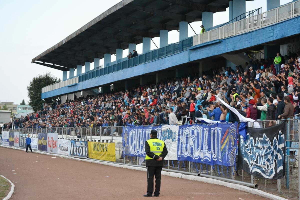 Spectatori stadionul Areni Suceava