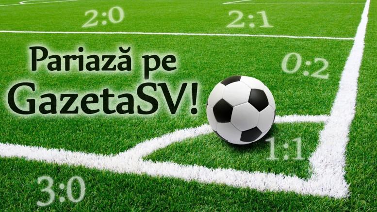 Concurs pronosticuri sportive Pariaza pe GazetaSV