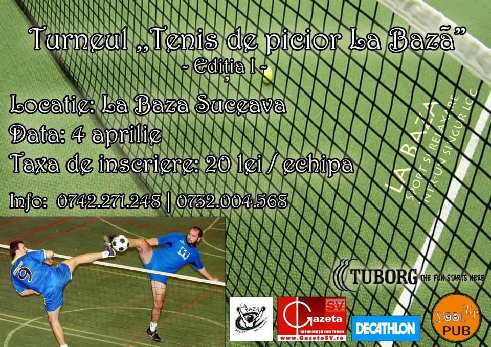 Turneul Tenis de Picior la Baza