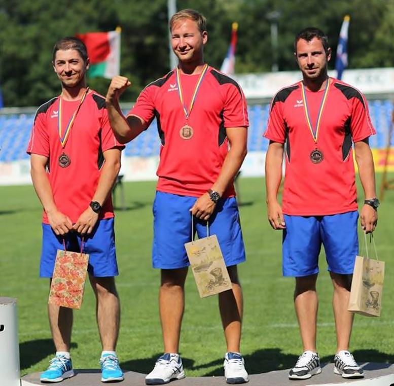 Andrei Dănilă, Daniel Ciornei si Razvan Marcu
