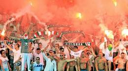 suporteri Legia Varsovia
