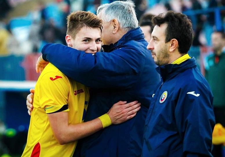 Alin Dudea, la Echipa Național a României U19