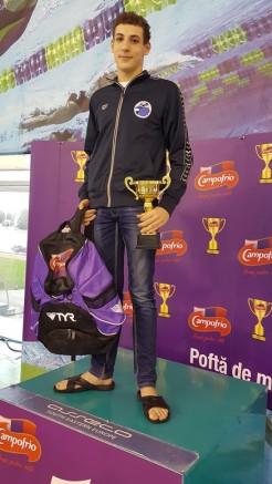 Serban Cotos - cel mai bun sportiv 14 ani