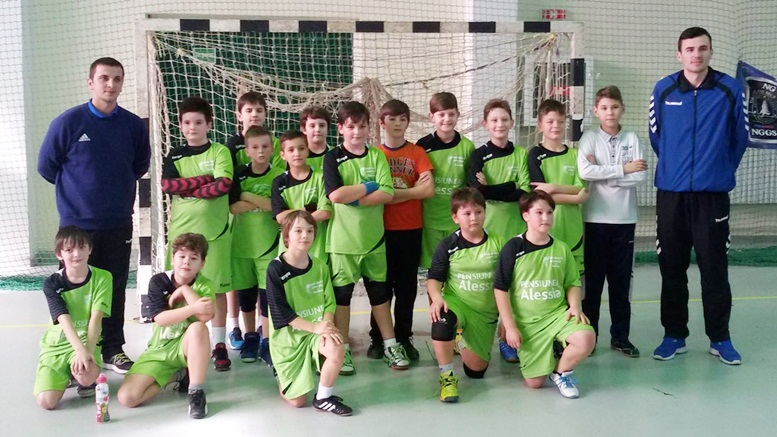 CSU Suceava junior minihandbal