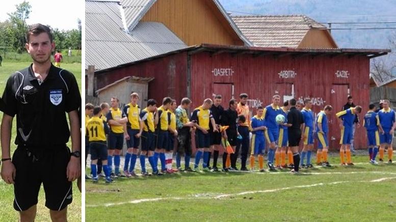 Liga 5 - arbitru Corduneanu-horz