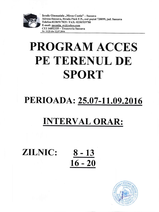 anunt-program-acces-teren-sport-scoala-gimnaziala-nr11-suceava