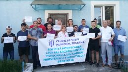 greva CSM Suceava