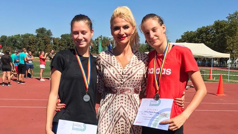 Talida Sfarghiu Erzilia Timpau si Antonia Bodnariuc