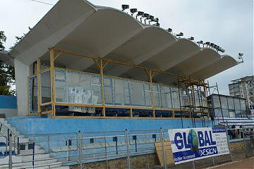 Tribuna oficiala a stadionului Areni