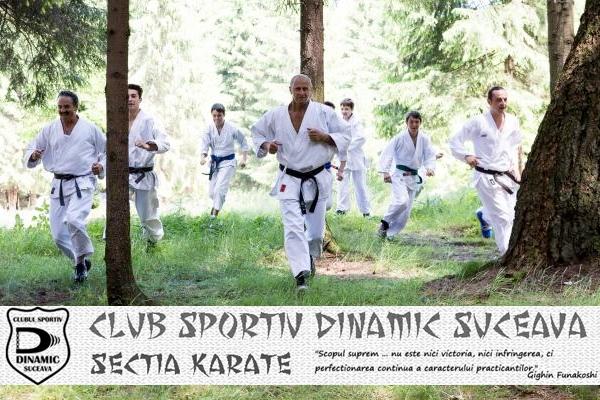 karate shotokan clubul Dinamic Suceava Sorin Nedelcu