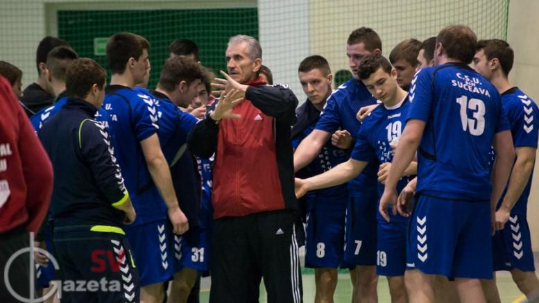 handbal CSU Suceava - Petru Ghervan