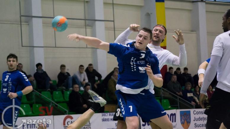handbal amical CSU Suceava - Ştiinţa Bacău