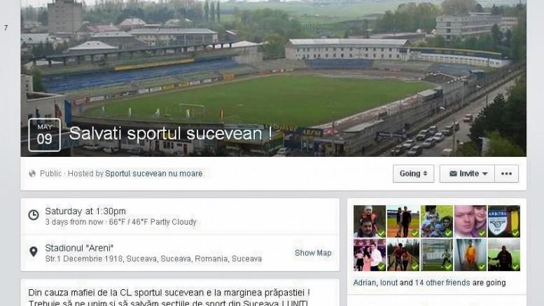 protest suporteri salvati sportul sucevean
