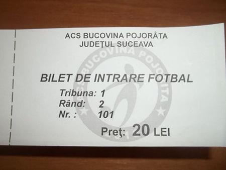 bilet Pojorata
