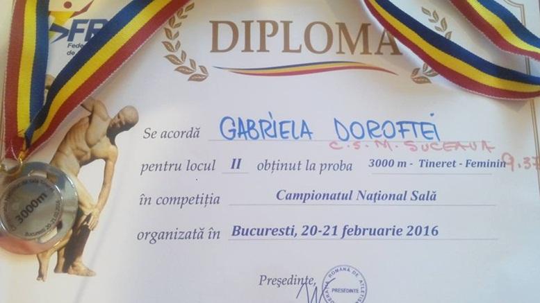 Doroftei Gabriela diploma