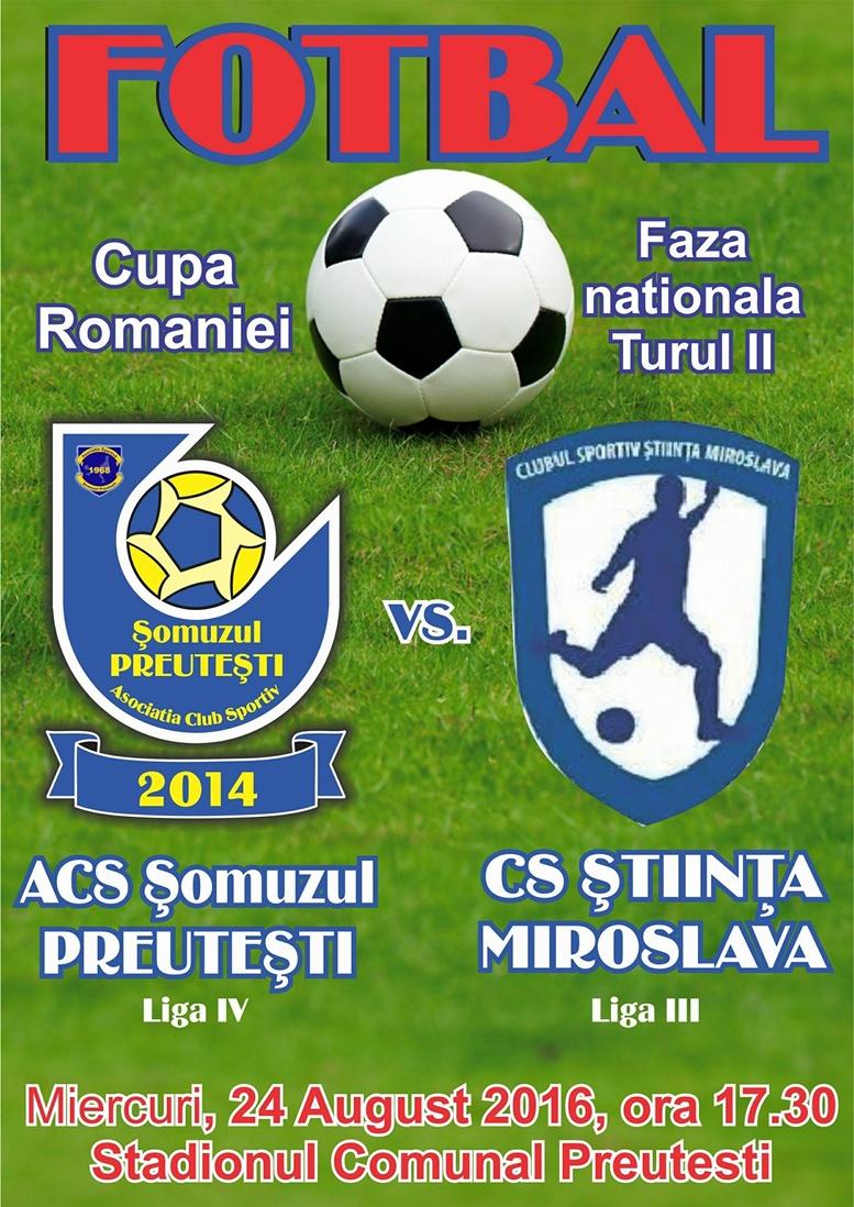 Somuz Preutesti - Stiinta Miroslava